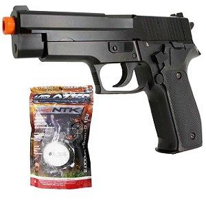 Airsoft Pistola Cybergun Sig Sauer P226 6mm + Esferas BBS.