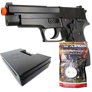 Airsoft Pistola Cybergun Sig Sauer P226+ Esferas BBS + Case