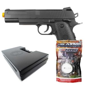 Airsoft Pistola Vg1911-v18 Metal Mola 6mm+Esferas BBS+Case