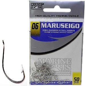 Anzol Marine Sports Maruseigo Nickel - 06 com 50