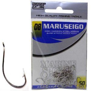 Anzol Marine Sports Maruseigo Nickel - 08 com 50