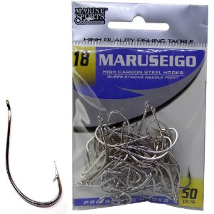 Anzol Marine Sports Maruseigo Nickel - 18 com 50