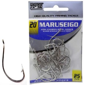 Anzol Marine Sports Maruseigo Nickel - 20 com 25