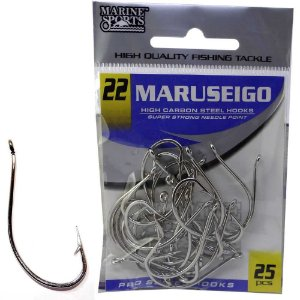 Anzol Marine Sports Maruseigo Nickel - 22 com 25
