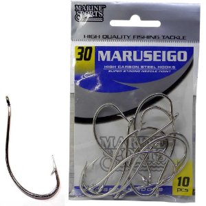 Anzol Marine Sports Maruseigo Nickel - 30 com 10