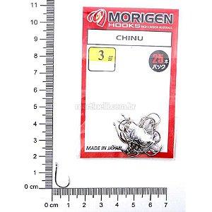 Anzol Morigen Kantsuki Chinu 03 Nickel 0437 c/ 25 un.