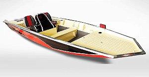 Barco Black Bass 5.5 SS (com comando) indicação motor 25 a 40HP - Casco a partir de R$ 11.435,00