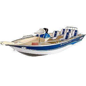 Barco Black Fish 19 c/ Comando - Casco a partir de R$ 23.790,00