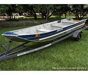 Barco de alumínio Martinelli Tornado 500 Semi chato - A partir de R$ 4.730,00