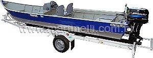Barco de alumínio Martinelli Tornado 600 CL Comando - Casco a partir de R$ 6.510,00