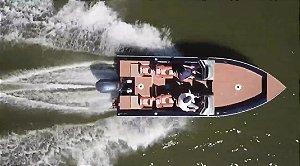 Barco Levefort Marajó Matrix Freestyle Special Series - Versões 19 e 22 Pés casco a partir de R$ 81.113,00