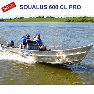 Barco Levefort Squalus 600 PRO CL c/ comando indicação motor até 40HP - Casco a partir de R$ 13.160,00