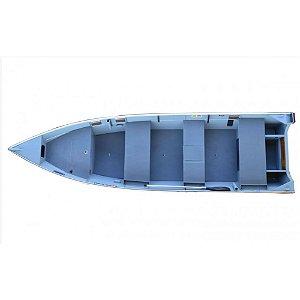 Barco Levefort Squalus 600 PRO p/ motores de 15 a 40HP - Casco a partir R$ 11.153,00