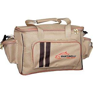 Bolsa de Pesca Martinelli Pro-Team M - Cor: bege