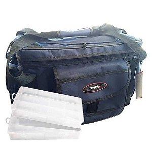 Bolsa de Pesca MTK Standard G+ 2 Estojos Emifran EP-040