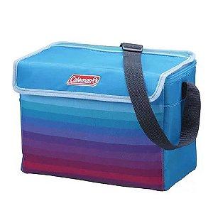 Bolsa Térmica Coleman Soft 4 litros Azul Celeste