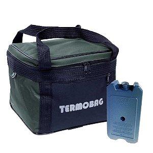 Bolsa Térmica Termobag 11L Jogá+ Gelo Artificial Cliogel 500ml