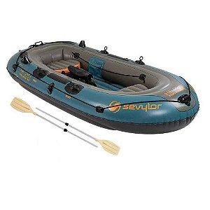 Bote inflável Sevylor Fish Hunter 4 Pessoas