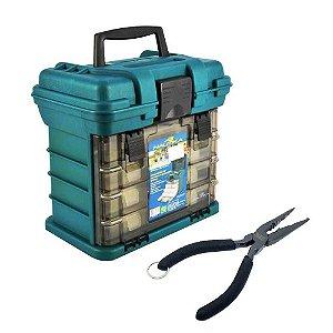 Caixa de Pesca Nautika MB1 + Alicate de Bico Marine Sports