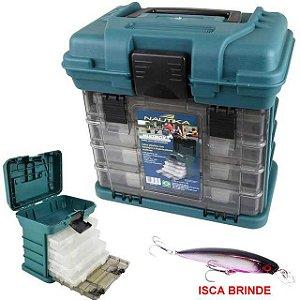 Caixa de pesca Nautika MB1 - Similar a Plano+ Isca artificial Brinde