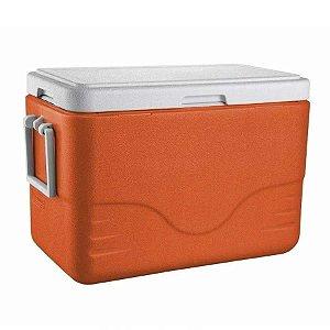 Caixa térmica Coleman 28 QT 26,4L - Tangerine Tango - Laranja