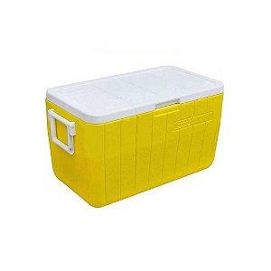 Caixa Térmica Coleman 48 QT 45,4L Amarelo Canarias
