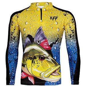 Camiseta de Pesca King 60 - Tucunaré - Tam: 05 - EX