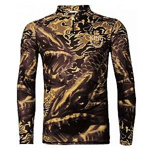 Camiseta de Pesca King Kf 104 - tam: M