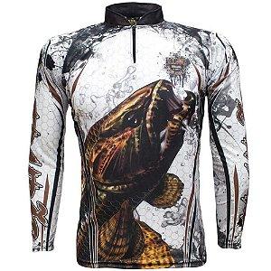 Camiseta de Pesca King Kf 300 - tam: M