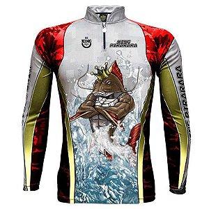 Camiseta de Pesca King Sublimada Furious 179 Pirarara - Tam. M