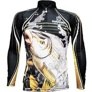 Camiseta de Pesca King Sublimada Kff 305 - Tam. EX