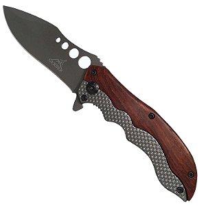 Canivete GB Tático Mk-06-0627 p/ Pesca Camping e EDC