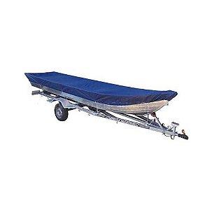 Capa de proteção para barcos de 4 a 6 m sem volante, com capuz do motor (lona nylon 600) - Fabricamos para todas as marcas e modelos.