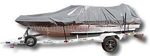 Capa de proteção para lanchas de fibra ou alumínio 21 a 23 pés SEM TARGA (Lona Night and Day) - Fabricamos para todas as marcas e modelos
