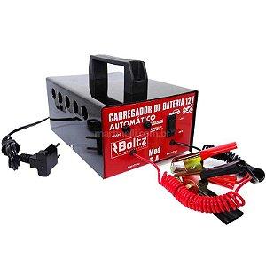 Carregador de Bateria Boltz 6A bivolt
