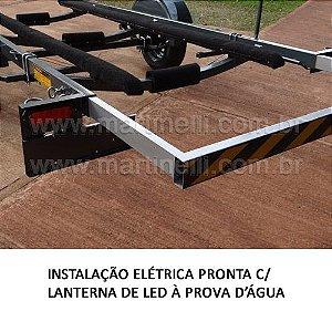 Carreta Rodoviária Odne para lancha Fibra/Alumínio até 19 pés (1 eixo) -  Orçamento pelo WhatsApp 16 981118340 - Raul