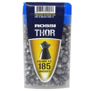 Chumbinho Norica Thor 4,5mm c/ 185 un.