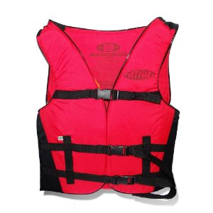 Colete Ativa Canoa 50 kg vermelho - auxiliar de flutuação