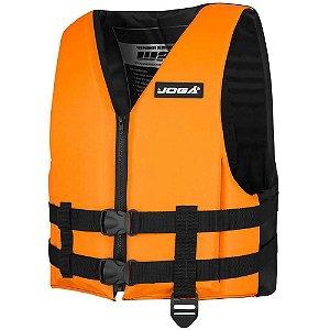 Colete Salva-vidas Wave 70Kg - Joga laranja