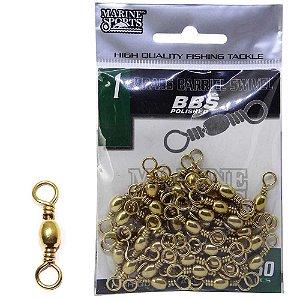 Girador Cartela Marine Sports BBS Gold nº 1 com 50