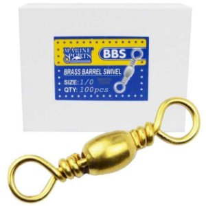 Girador comum Marine Sports BBS Gold Nº - 1/0 com 100