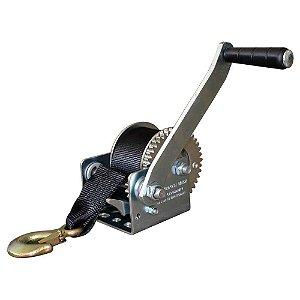 Guincho manual com fita e gancho - cap. 1200 Lbs