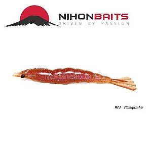 Isca artificial Camarão JET Shrimp Nihon Baits 8,7cm - 13 POLAQUINHO