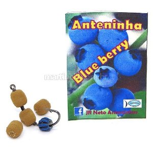 Isca artificial JR Neto Anteninha Blue Berry