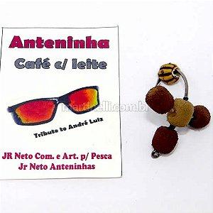Isca artificial JR Neto Anteninha Café com Leite