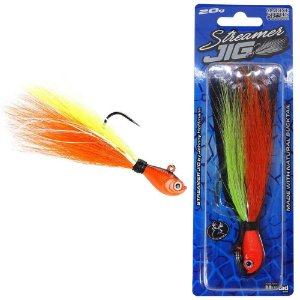 Isca artificial Marine Sports Streamer Jig JH 10g Cor CO By Johnny Hoffmann