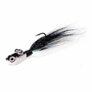 Isca artificial Marine Sports Streamer Jig JH 20g Cor 2 BW By Johnny Hoffmann