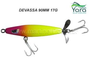 Isca artificial Yara Devassa 90mm 17G cor 12 - Pirulito