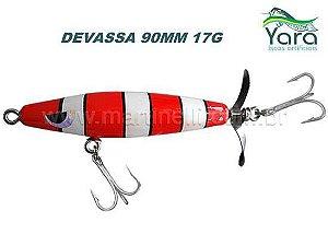 Isca artificial Yara Devassa 90mm 17G cor 16 - Coral