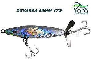 Isca artificial Yara Devassa 90mm 17G cor 30 - Holográfica